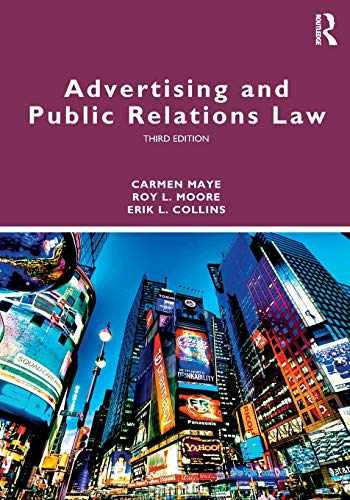 9781138484481-1138484482-Advertising and Public Relations Law (Routledge Communication Series)