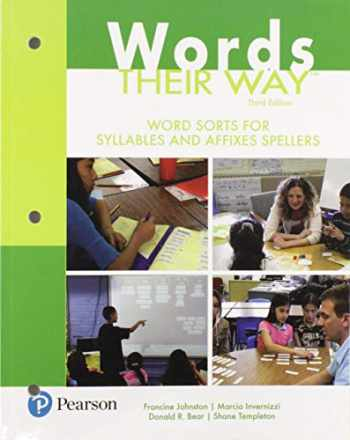 9780134530710-0134530713-Words Their Way: Word Sorts for Syllables and Affixes Spellers (3rd Edition) (Words Their Way Series)