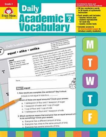9781596732018-1596732016-Evan-Moor Daily Academic Vocabulary, Grade 2