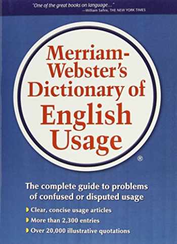 9780877791324-0877791325-Merriam-Webster's Dictionary of English Usage