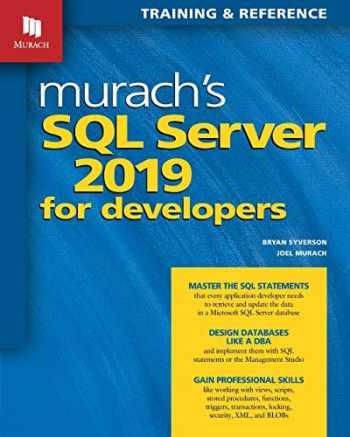 9781943872572-1943872570-Murach's SQL Server 2019 for Developers