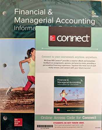 9781260581195-1260581195-Looseleaf Financial and Managerial Accounting with Connect Access Card