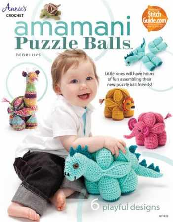 9781573675697-1573675695-Amamani Puzzle Balls (Annie's Crochet)