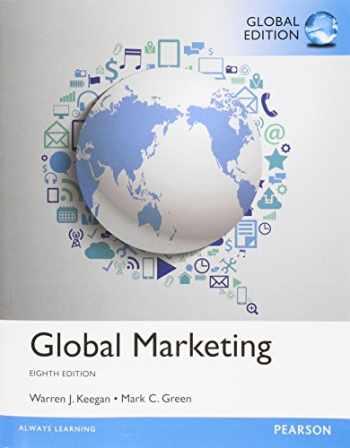 9781292017389-1292017384-Global Marketing, Global Edition [Paperback] [Jan 01, 2014] Mark Green, Warren J. Keegan