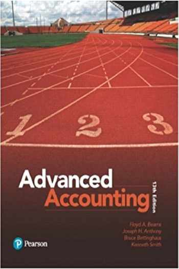 9780134472140-0134472144-Advanced Accounting (13th Edition)