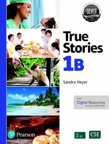 9780135177914-013517791X-All New Easy True Stories Student Book with Essential Online Resources Level 1B , Silver Edition