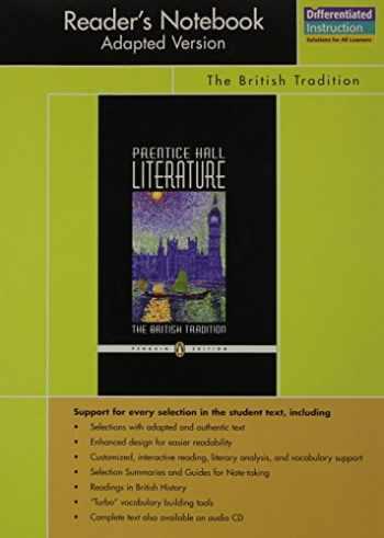 9780131652972-0131652974-PRENTICE HALL LITERATURE PENGUIN EDITION READERS NOTEBOOK ADAPTED VERSION GRADE 12 2007C