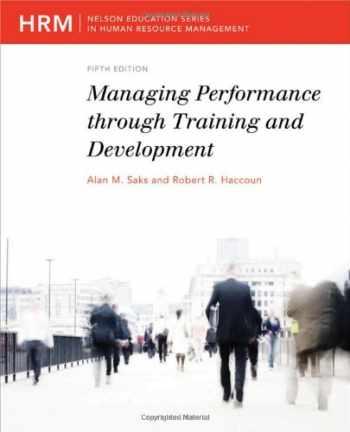 9780176616229-0176616225-Managing Performance Through Training and Development