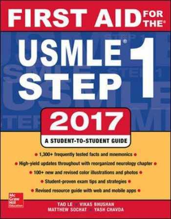 9781259837630-1259837637-First Aid for the USMLE Step 1 2017
