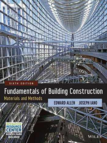 9781118138915-1118138910-Fundamentals of Building Construction: Materials and Methods