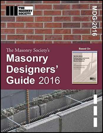 9781929081585-1929081588-Masonry Designers' Guide – 2016