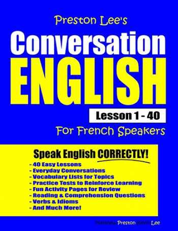 9781792122835-1792122837-Preston Lee's Conversation English For French Speakers Lesson 1 - 40
