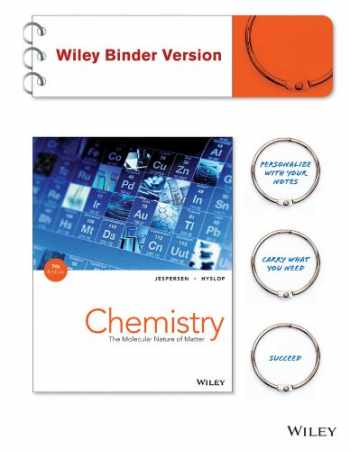 9781118865552-1118865553-Chemistry: The Molecular Nature of Matter 7e Binder Ready Version+ WileyPLUS Registration Card (Wiley Plus Products)