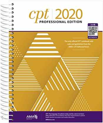 9781622028986-1622028988-CPT Professional 2020 (CPT / Current Procedural Terminology (Professional Edition))