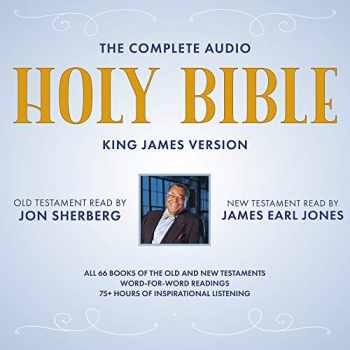 9781094091259-1094091251-The Complete Audio Holy Bible: King James Version: The New Testament as Read by James Earl Jones; The Old Testament as Read by Jon Sherberg