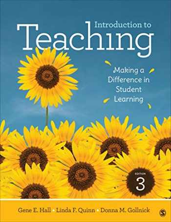 9781506393896-1506393896-Introduction to Teaching: Making a Difference in Student Learning (NULL)