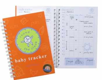 9789729375019-9729375011-Baby Tracker for Newborns - Round-The-Clock Night and Day Schedule Log Book, 90 Easy to Fill Pages Track Nursing, Feeding, Sleep, Diapers, Todos and More