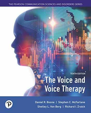 9780134893655-0134893654-The Voice and Voice Therapy with Enhanced Pearson eText -- Access Card Package (Pearson Communication Sciences and Disorders)