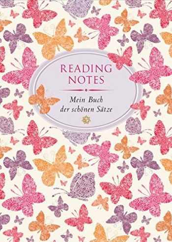 9783851793369-3851793366-Reading Notes: Mein Buch der schönsten Sätze - Schmetterlinge