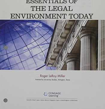 9781305785915-1305785916-Bundle: Cengage Advantage Books: Essentials of the Legal Environment Today, Loose-leaf Version, 5th + MindTap Business Law, 1 term (6 months) Printed Access Card