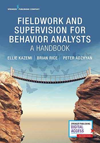 9780826139122-0826139124-Fieldwork and Supervision for Behavior Analysts: A Handbook