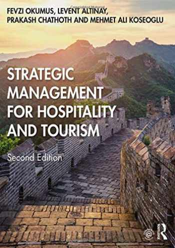 9780815393474-0815393474-Strategic Management for Hospitality and Tourism