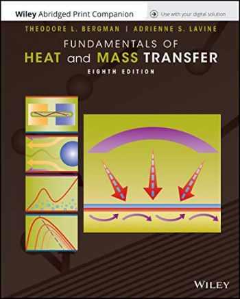 9781119660378-1119660378-Incropera's Principle of Heat and Mass Transfer, 8e WileyPLUS Card with Abridged Loose-Leaf Print Companion Set