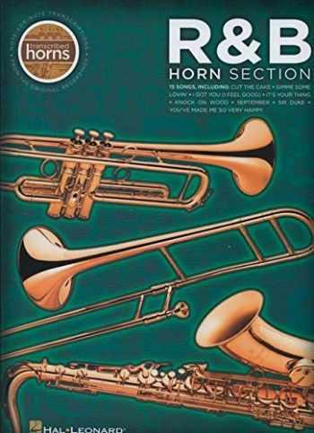 9781423446750-1423446755-R&B Horn Section: Transcribed Horns