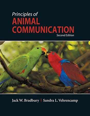 9780878930456-0878930450-Principles of Animal Communication