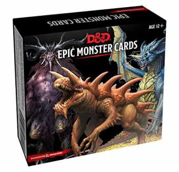9780786966950-0786966955-Dungeons & Dragons Spellbook Cards: Epic Monsters (D&D Accessory)