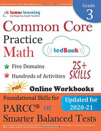 9781940484433-194048443X-Common Core Practice - Grade 3 Math: Workbooks to Prepare for the PARCC or Smarter Balanced Test: CCSS Aligned (CCSS Standards Practice) (Volume 2)