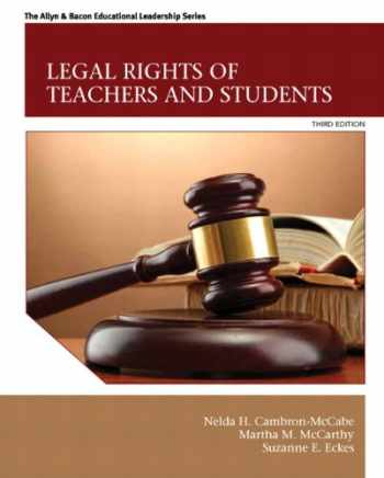 9780132619431-0132619431-Legal Rights of Teachers and Students (3rd Edition) (The Allyn & Bacon Educational Leadership)