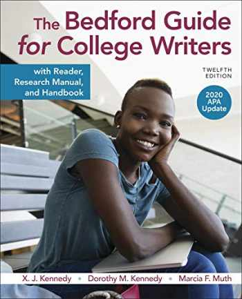 9781319361532-1319361536-The Bedford Guide for College Writers with Reader, Research Manual, and Handbook, 2020 APA Update
