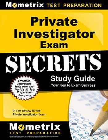 9781610727761-1610727762-Private Investigator Exam Secrets Study Guide: PI Test Review for the Private Investigator Exam (Mometrix Secrets Study Guides)