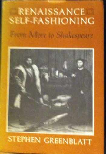 9780226306537-0226306534-Renaissance self-fashioning: From More to Shakespeare
