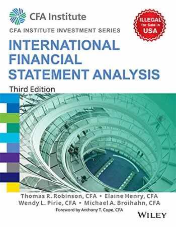 9788126564767-8126564768-International Financial Statement Analysis, 3Ed (Cfa Institute Investment Series)