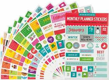 9781441330765-1441330763-Essentials Month By Month Planner Stickers (set of 475 stickers)