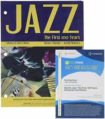 9781337077712-1337077712-Bundle: Jazz: The First 100 Years, Enhanced Media Edition, Loose-Leaf Version, 3rd + MindTap Music, 1 term (6 months) Printed Access Card with Active Listening Guide