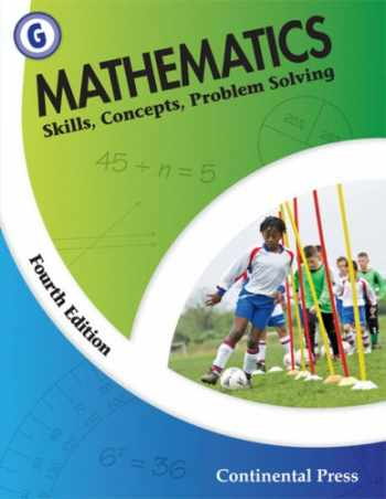 9780845458631-0845458639-Math Workbooks: Mathematics: Skills, Concepts, Problem Solving, Level G - 7th Grade
