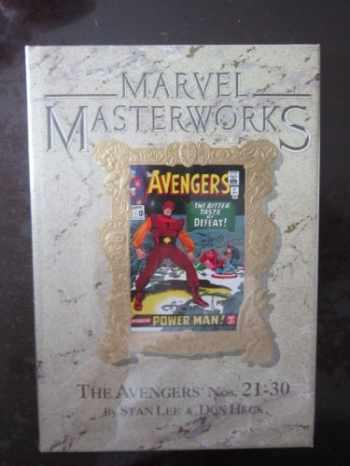 9780871359933-0871359936-Marvel Masterworks: The Avengers Volume 3 (Reprints The Avengers #21-30) (#27) (1993)
