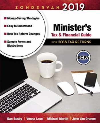 9780310588771-0310588774-Zondervan 2019 Minister's Tax and Financial Guide: For 2018 Tax Returns