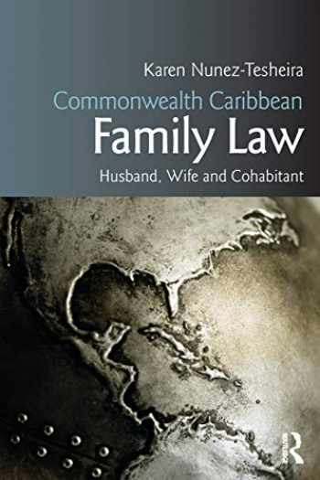 9781138801806-1138801801-Commonwealth Caribbean Family Law (Commonwealth Caribbean Law)