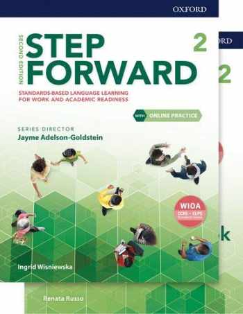 9780194492744-0194492745-Step Forward Level 2 Student Book and Workbook Pack with Online Practice: Standards-based language learning for work and academic readiness (Step Forward 2nd Edition)