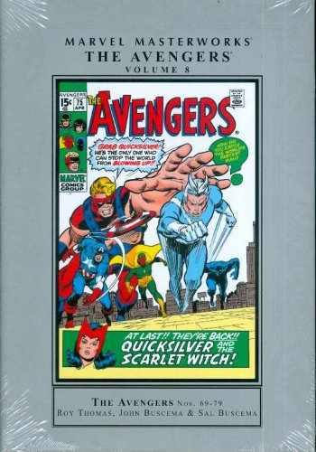 9780785129349-0785129340-Marvel Masterworks: Avengers 8