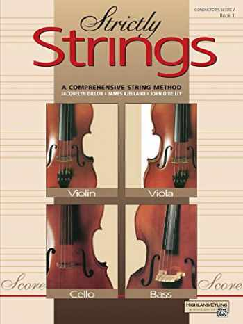 9780882845340-0882845349-Strictly Strings, Bk 1: Conductor's Score, Comb Bound Book