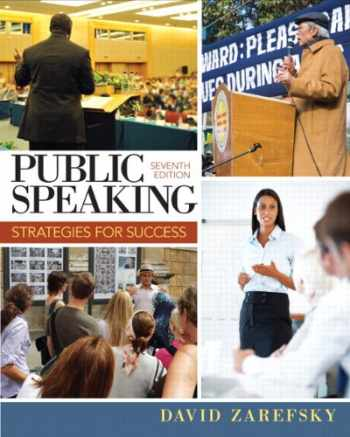 9780205857265-0205857264-Public Speaking: Strategies for Success (7th Edition)