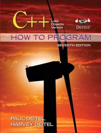 9780132165419-0132165414-C++ How to Program: Late Objects Version (7th Edition) (How to Program (Deitel))