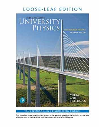 9780135205013-0135205018-University Physics with Modern Physics, Loose-Leaf Edition (15th Edition) (Masteringphysics)