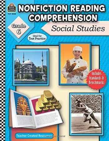 9781420680386-1420680382-Nonfiction Reading Comprehension: Social Studies, Grd 6: Social Studies, Grd 6