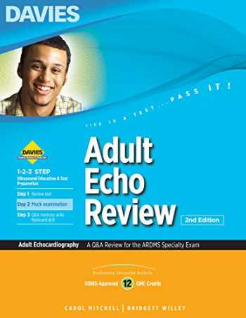 9780941022811-0941022811-Adult Echo Review (A Q&A Review for the ARDMS Specialty Exam)